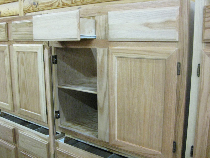 Oak Prefinished Birch Cabinets
